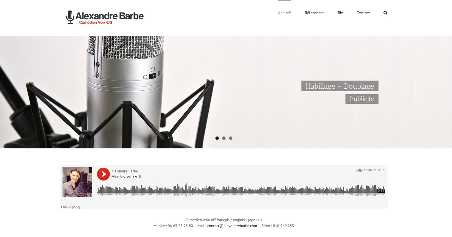 alexandrebarbe.com
